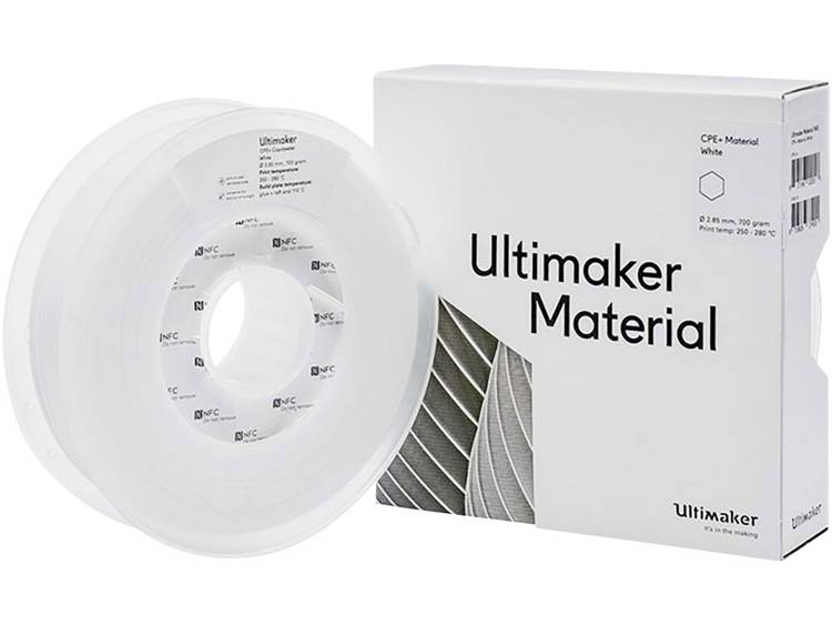 Filament Ultimaker 1645 2.85 mm Wit 700 g