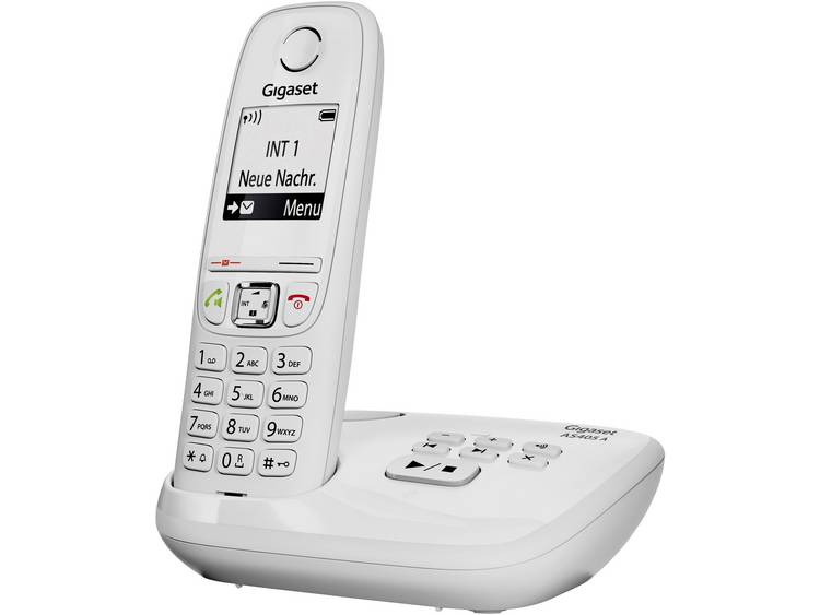 Gigaset AS405 A DECT telefoon met Antwoordapparaat, Handsfree functie