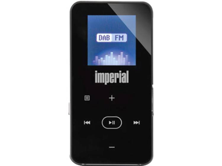 Imperial DABMAN 2 Zakradio FM Bluetooth Herlaadbaar Zwart