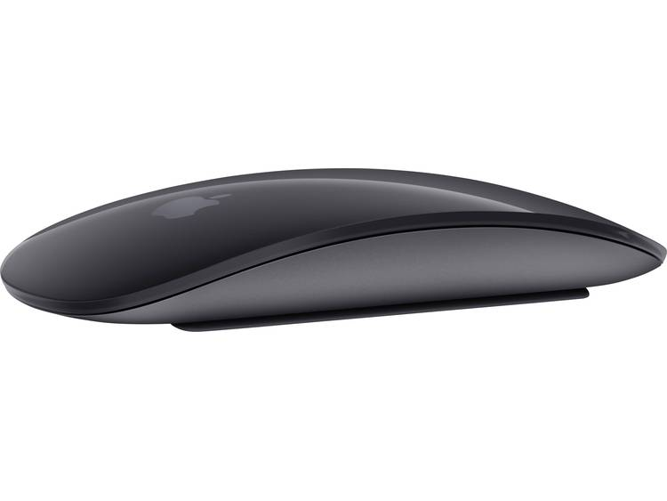 Apple MAGIC MOUSE 2 Bluetooth muis Spacegrijs Touch-knoppen, Oplaadbaar