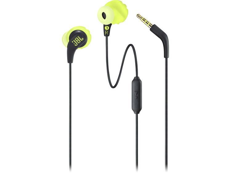 JBL Endurance Run Sport Koptelefoon In Ear Lime Headset, Bestand tegen zweet