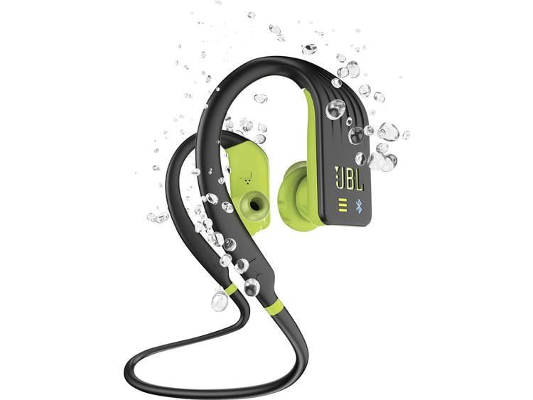 JBL Endurance Dive Sport Koptelefoon In Ear Bluetooth Lime Headset, MP3-speler, Bestand tegen zweet,