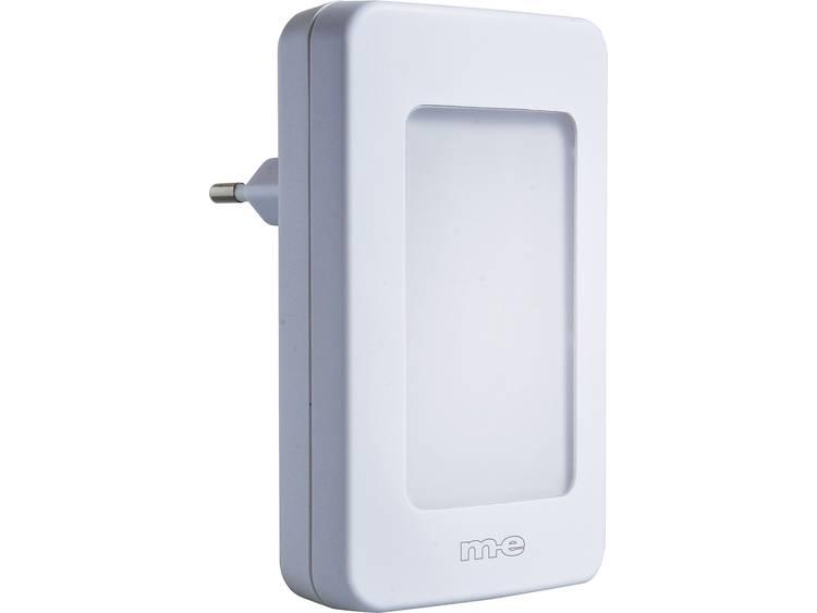 m-e modern-electronics 41145 Ontvanger voor Draadloze deurbel Met automatische nachtlamp
