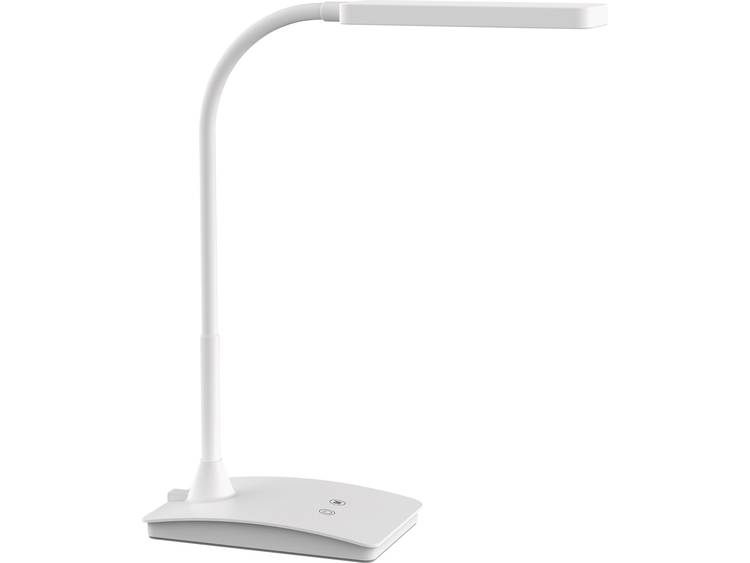 Maul MAULpearly 8201702 LED-bureaulamp Energielabel: LED 6 W Warm-wit, Neutraal wit, Daglicht-wit Wit