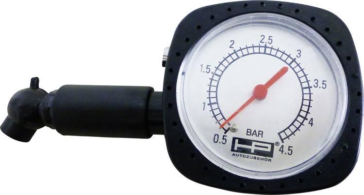 Bandendrukmeter Mechanisch Meetbereik luchtdruk 0.5 - 4.5 bar HP Autozubehor 21251
