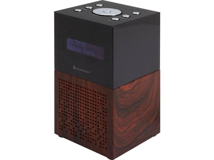 SoundMaster UR210BR FM Wekkerradio USB, FM Accu laadfunctie Bruin