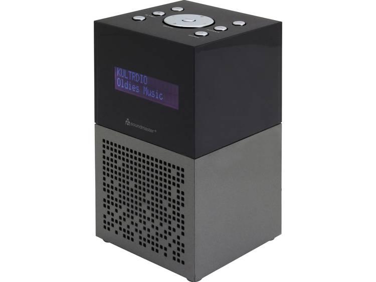 SoundMaster UR210AN FM Wekkerradio USB, FM Accu laadfunctie Antraciet