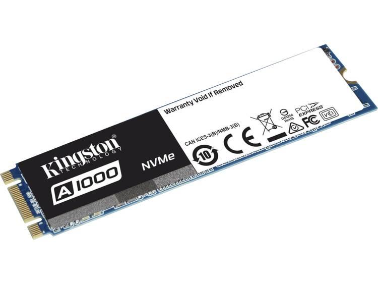 SATA M.2 SSD 2280 harde schijf 240 GB Kingston Retail SA1000M8/240G PCI-Express