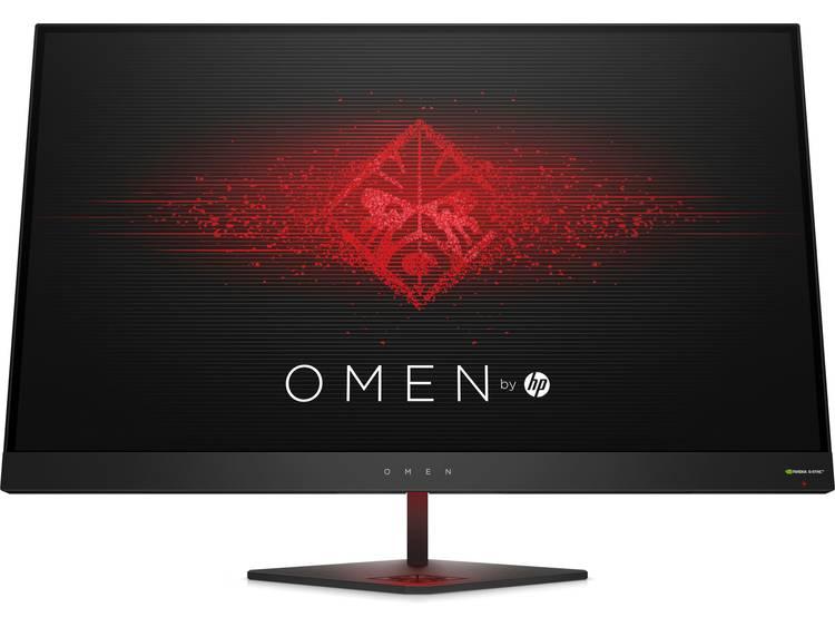 LED-monitor 68.6 cm (27 inch) Omen by HP Omen Energielabel C 2560 x 1440 pix QHD 1440 p 1 ms HDMI, DisplayPort, USB 3.0, Audio, stereo (3.5 mm jackplug) TN LED