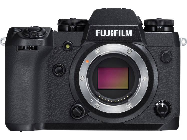 Systeemcamera Fujifilm X-H1 VPB incl. accu 24.3 Mpix Zwart Full-HD video-opname, Bluetooth, Flitsschoen