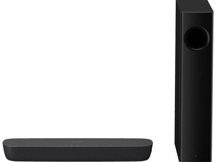 Panasonic SC-HTB254EG Soundbar Zwart Bluetooth, Incl. draadloze subwoofer, versc