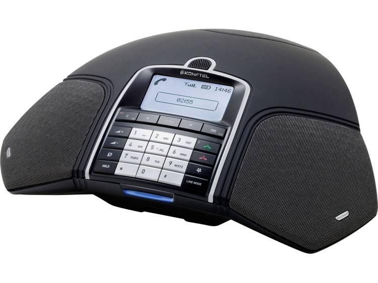 Conferentietelefoon DECT/GAP, VoIP Konftel 300Wx (mit DECT Basis) Zwart, Zilver