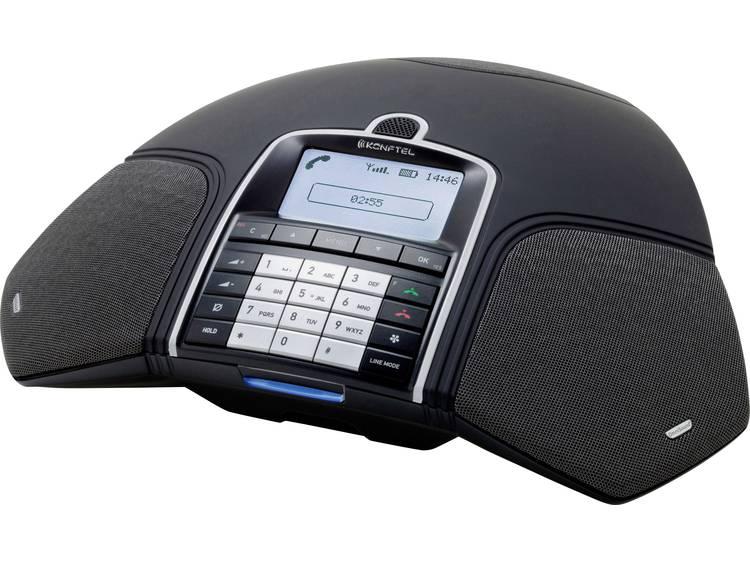 Conferentietelefoon DECT/GAP, VoIP Konftel 300 Wx (ohne DECT-Basisstation) Zwart, Zilver