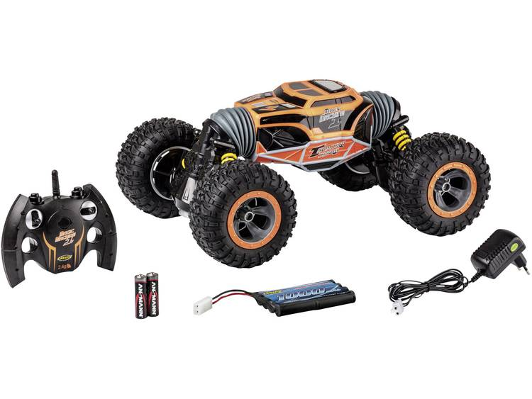 Carson Modellsport 500404200 Magic Machine 1:8 RC auto Elektro Monstertruck 4WD Incl. accu, oplader