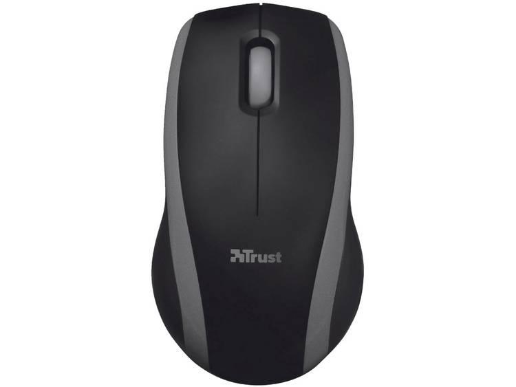 Trust Carve Draadloze muis Optisch Zwart
