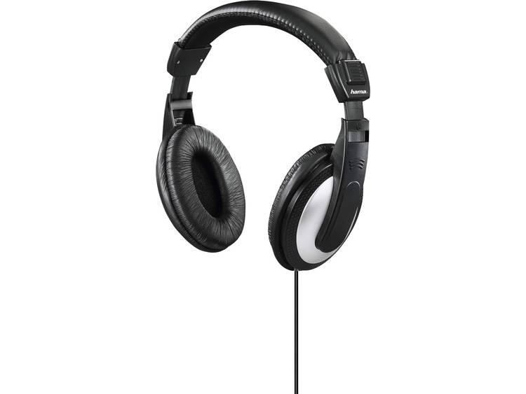 Hama Basic4TV TV Koptelefoon Over Ear Volumeregeling Zwart, Grijs