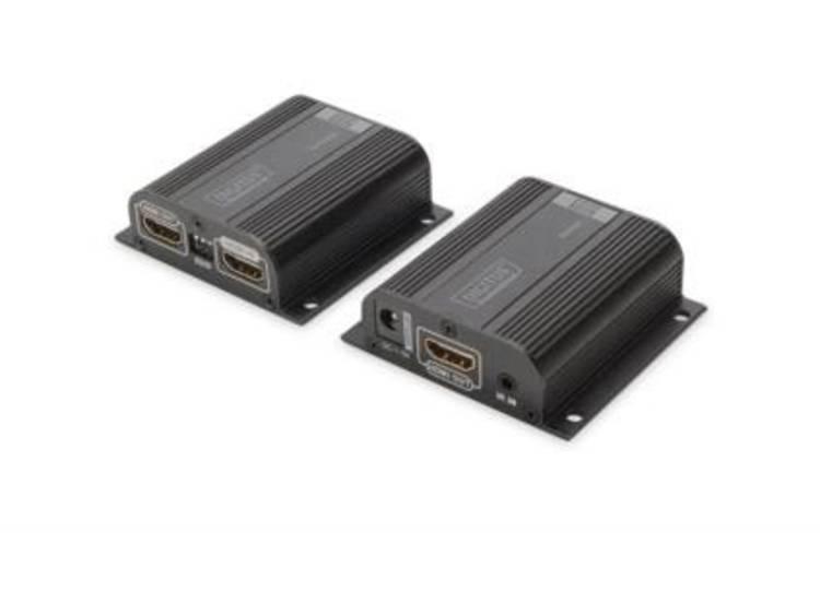 HDMI Extender verlenging via netwerkkabel RJ45 Digitus Professional DS 55100 1