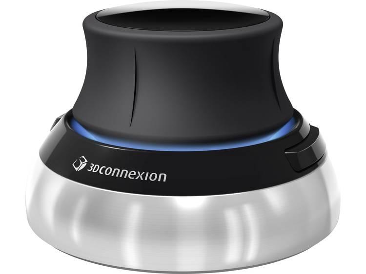 3Dconnexion SpaceMouse Wireless 3D-muis Zwart/zilver