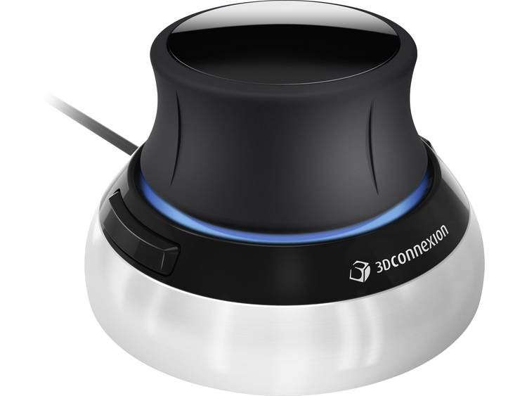 3Dconnexion SpaceMouse Compact 3D-muis Optisch Zwart/zilver