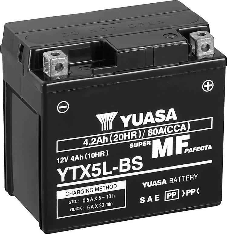 Image of Motoraccu Yuasa YTX7L-BS 12 V 4 Ah Geschikt voor model Motorfietsen, Quads, Jetski, Sneeuwscooters