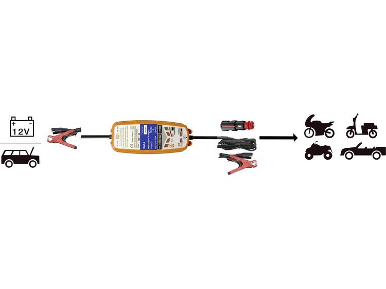 Mobiele DC DC automatische lader BAAS MobiAccuCharger 12 12V 12 V 2 A