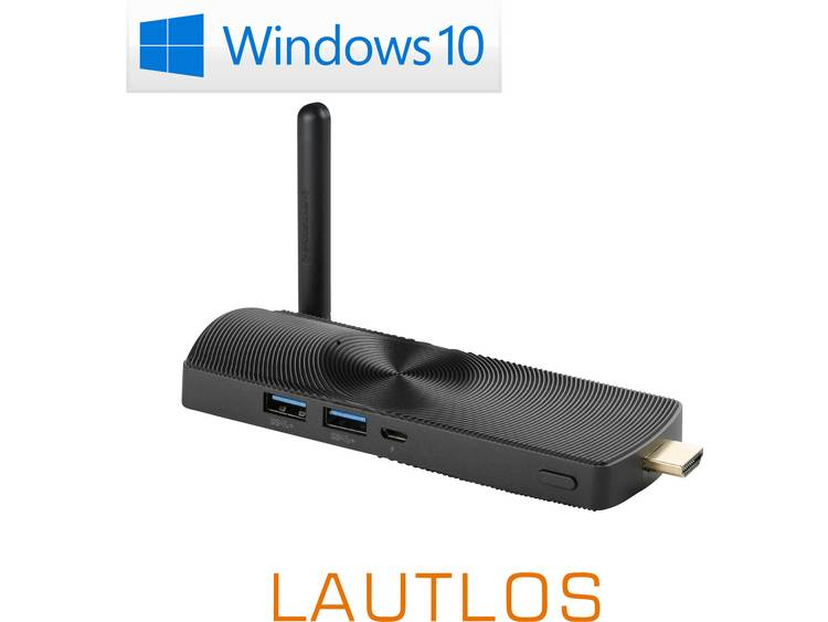 Mini PC-stick CSL Computer CSL PC on a Stick Ultra HD N3450 4 GB 500 Microsoft Windows 10 Home
