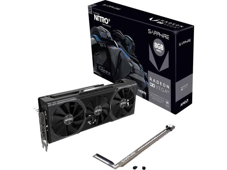 Videokaart Sapphire AMD Radeon RX Vega 56 Nitro+ 8 GB HBM2-RAM PCIe x16 HDMI, DisplayPort