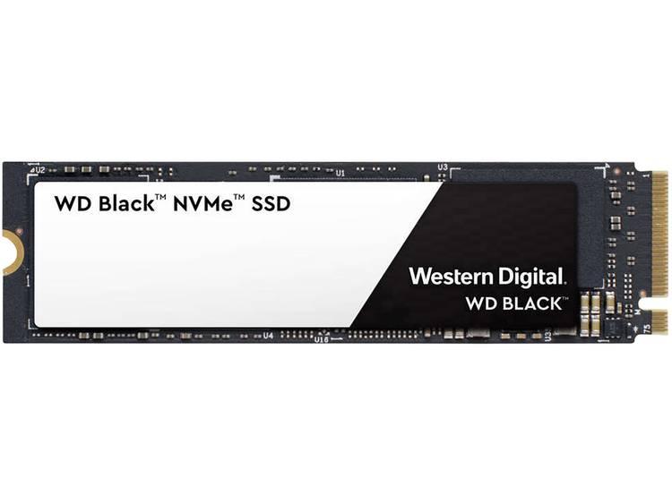 SATA M.2 SSD 2280 harde schijf 500 GB Western Digital Black⢠Retail WDS500G2X0C M.2