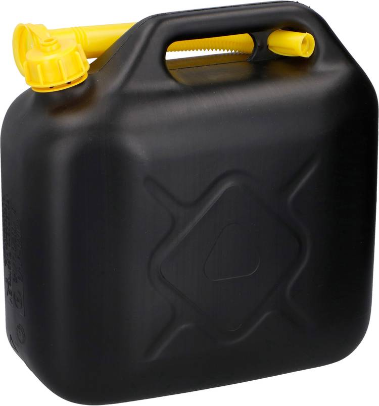 Image of Jerrycan voor benzine Dunlop 06877 (l x b x h) 320 x 320 x 130 mm