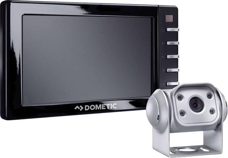 Achteruitrijcamerasysteem Dometic Group PerfectView RVS 555 3 camera-ingangen. Spiegelfunctie. Automatische dag nachtomschakeling. Kantelbaar. Zwenkbaar Vaste