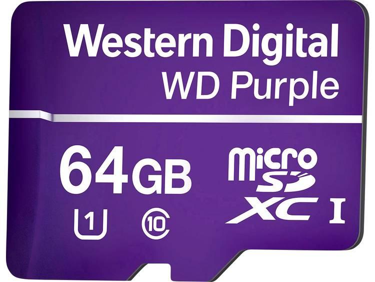Western Digital WD Purple microSDXC-kaart 64 GB Class 10, UHS-I