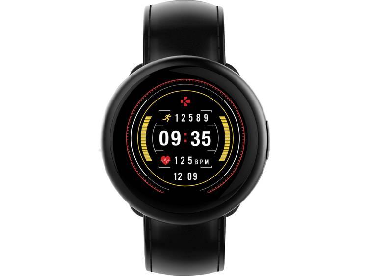 MyKronoz ZeRound2 HR premium smartwatch zwart