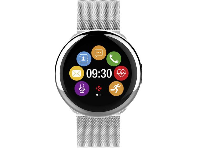 MyKronoz ZeRound2 HR elite smartwatch zilver