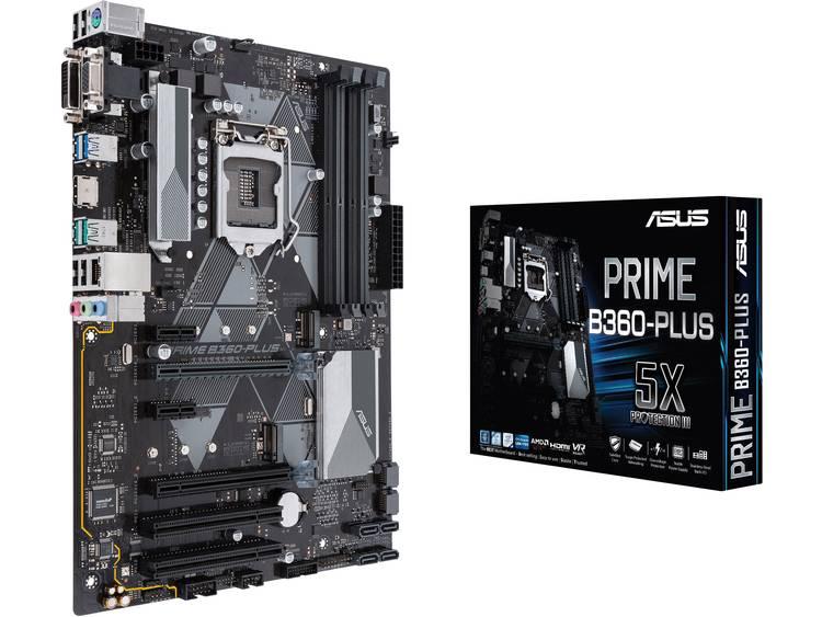 Asus PRIME B360-PLUS Moederbord Socket Intel® 1151v2 Vormfactor ATX Moederbord chipset Intel® B360