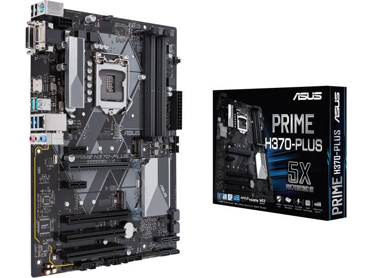Asus PRIME H370-PLUS Moederbord Socket Intel® 1151v2 Vormfactor ATX Moederbord chipset Intel® H370