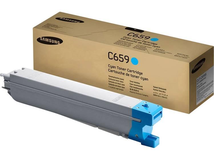 Samsung Tonercassette CLT C659S SU093A Origineel Cyaan 20000 bladzijden