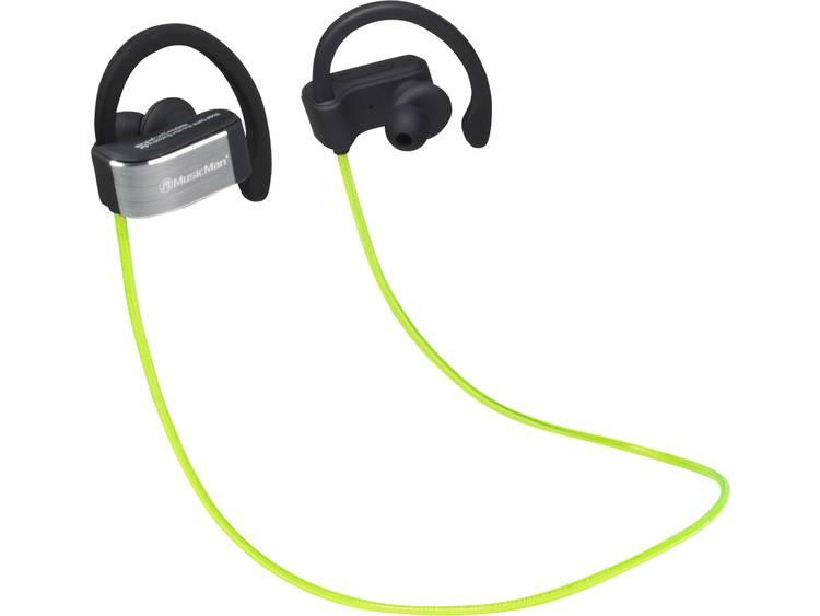 Technaxx BT-X28 Zwart, Groen, Zilver Intraauraal In-ear koptelefoon