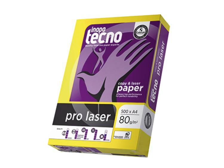 Printpapier Inapa Tecno pro laser 019608010001 DIN A4 80 g/m² 500 vellen Wit