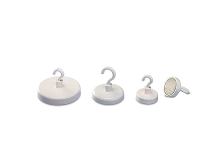 Magnetoplan (Ã) 25 mm rond Wit 1 stuks 52625