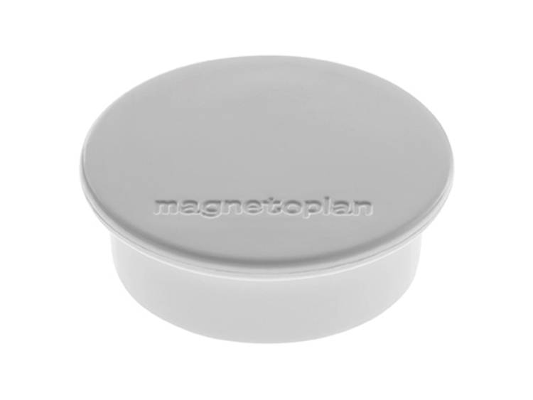 Magnetoplan Discofix Color (Ã x h) 40 mm x 13 mm rond Grijs 10 stuks 1662001
