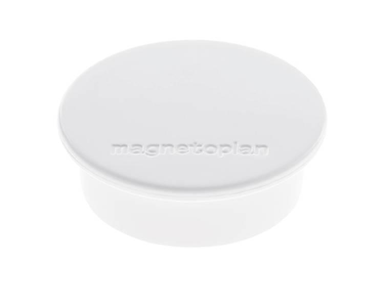 Magnetoplan Discofix Color (Ã x h) 40 mm x 13 mm rond Wit 10 stuks 1662000