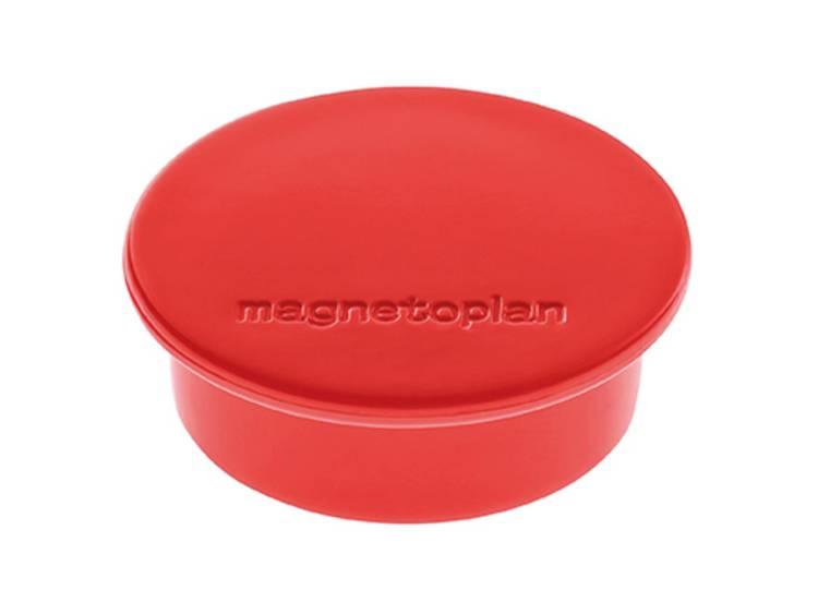 Magnetoplan Discofix Color (Ã x h) 40 mm x 13 mm rond Rood 10 stuks 1662006