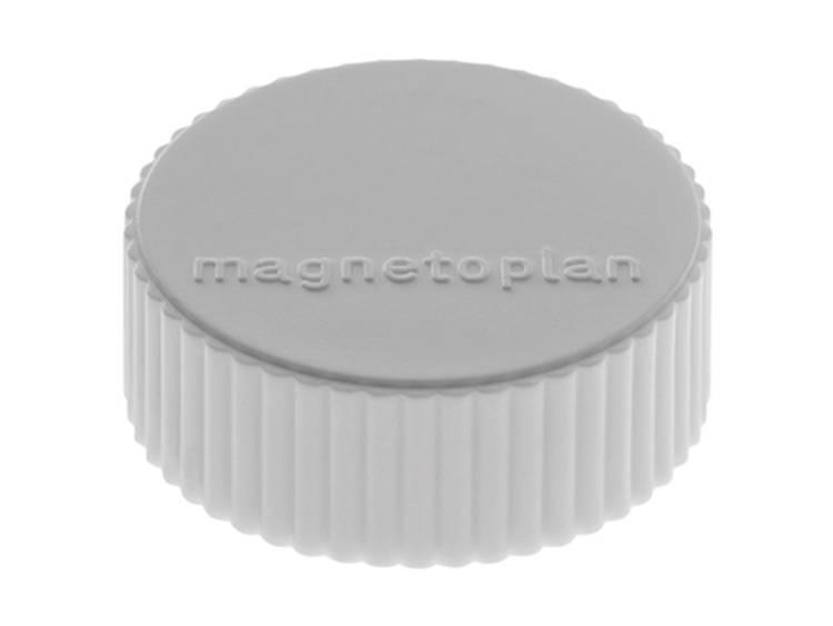 Magnetoplan Discofix Magnum (Ã x h) 34 mm x 13 mm rond Grijs 10 stuks 1660001