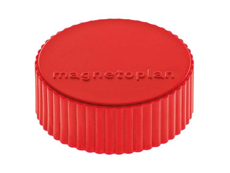 Magnetoplan Discofix Magnum (Ã x h) 34 mm x 13 mm rond Rood 10 stuks 1660006