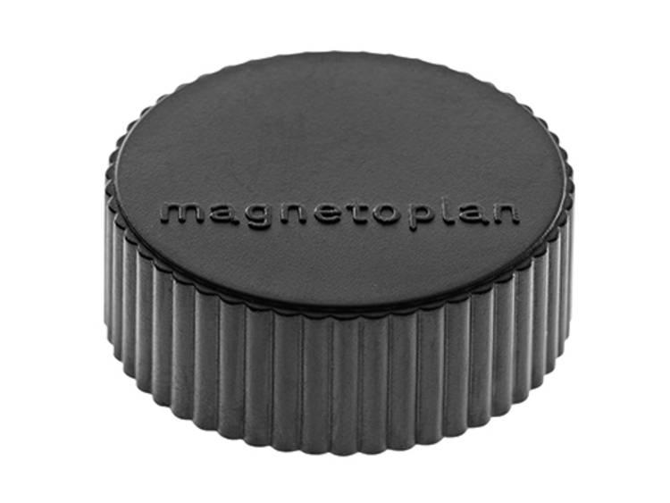 Magnetoplan Discofix Magnum (Ã x h) 34 mm x 13 mm rond Zwart 10 stuks 1660012