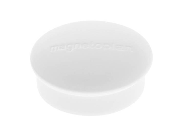 Magnetoplan Discofix Mini (Ã x h) 19 mm x 7 mm rond Wit 10 stuks 1664600