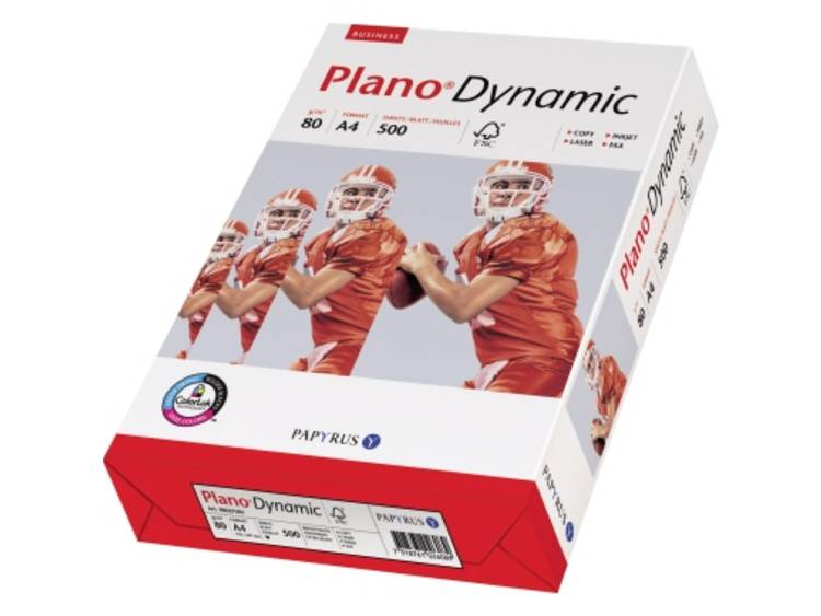 Printpapier Papyrus Plano Dynamic 88027681 DIN A4 80 g/m² 500 vellen Wit
