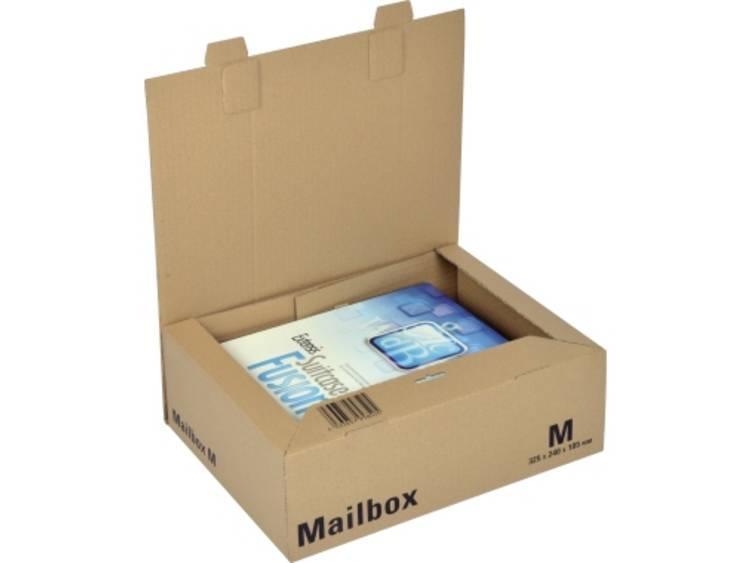 Office Depot Verzenddozen Mail-Box Medium Bruin 253 x 330 x 110 mm Stuks