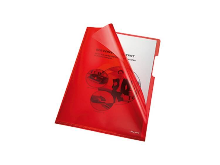 Bene PVC 0.15 mm Rood (transparant) 205000RT 100 stuks