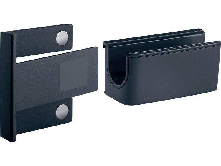 Sigel GL800 Penhouder met magneetklem (b x h x d) 75 x 37 x 35 mm Antraciet